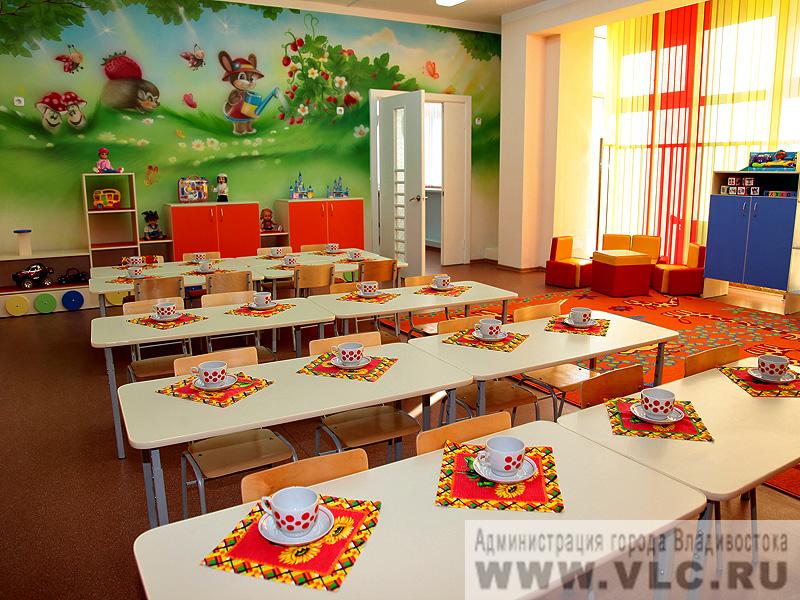 Еще один современный детский сад открылся в первореченском р.