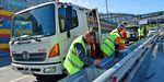 Новые дорожные ограждения устанавливают на Некрасовской